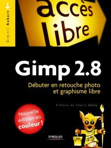 Couverture GIMP débuter en retouche photo et graphisme libre