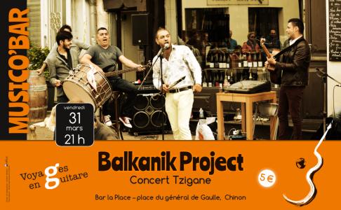 Balkanik project - Musico'bar la Place