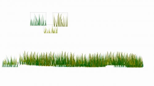 Dessiner de l'herbe avec Inkscape