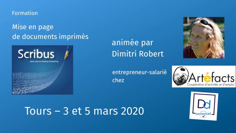 Formation Scribus Tours